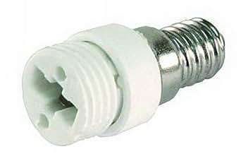 Adaptateur d'ampoule LED CFL/convertisseur de douille E14 vers G9