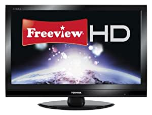 Toshiba 32RV753B 32-inch Widescreen Full HD 1080p Digital LCD TV with Freeview HD