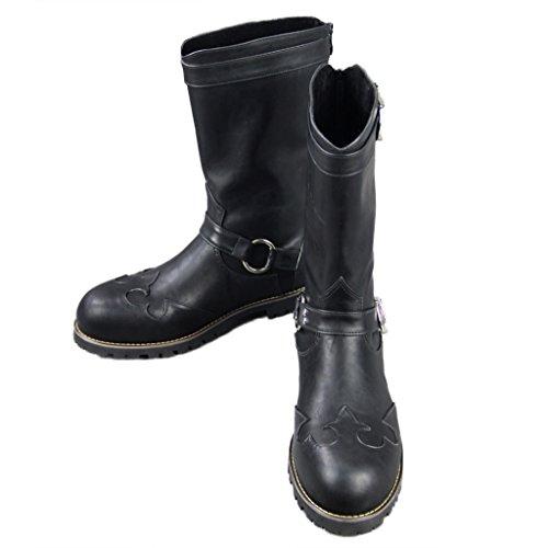 Preisvergleich Produktbild Holysteed Devil May Cry 4 Dante Cosplay Boots Chaussures Maenner 35