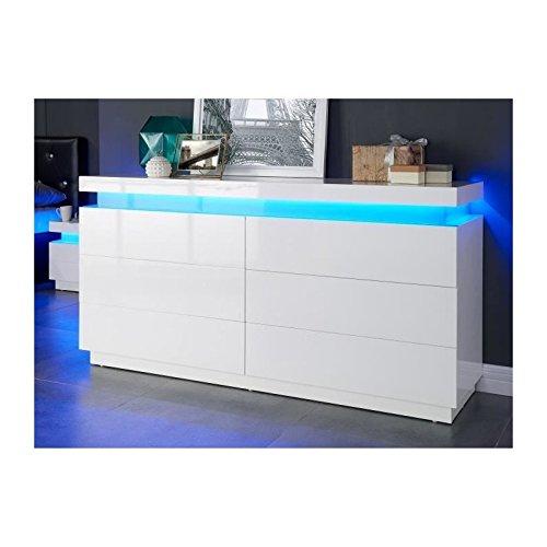 flash-commode-150-cm-avec-led-multicolore-blanc-brillant