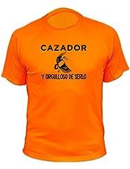 Camiseta de caza Cazador y orgulloso de serlo, Becada - Ideas regalos