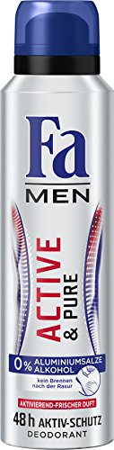 Fa Men Active und Pure 48h Deospray, 6er Pack (6 x 150 ml)