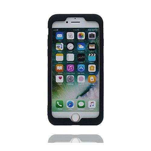 Coque iPhone 7, iPhone 7 étui, [ TPU durable flexible 3D Smiley ] iPhone 7 Case 4.7 pouces, anti-chocs, des empreintes digitales # 1
