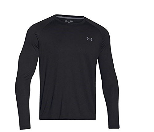 Under Armour Herren Langarmshirt Tech, blk, XL, 1264088 (Rock Tee Out)