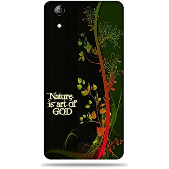 Micromax Canvas Selfie Q340 Printed Back Cover (3D)