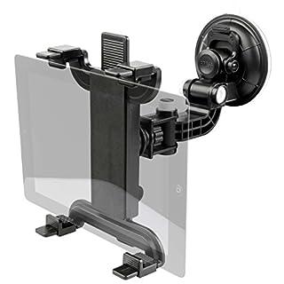 Walser 30230 Premium PKW Tablet Halterung mit Saugnapf Passend bis 10 Zoll Tablets