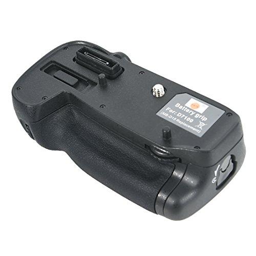 DSTE Multi-Energia Verticale Batteria Presa per Nikon D7100 D7200 DSLR Fotocamera come MB-D15