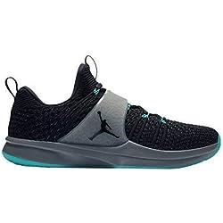 Nike Air Jordan Trainer 2Flyknit Negro, 8.5 D(M) US