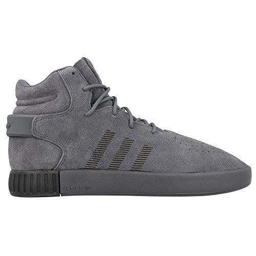 adidas Tubular Invader Strap, Chaussures de Sport Homme Gris