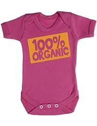 Baby Buddha - 100% Organic Design Baby Bodys / Strampler 100% Baumwolle