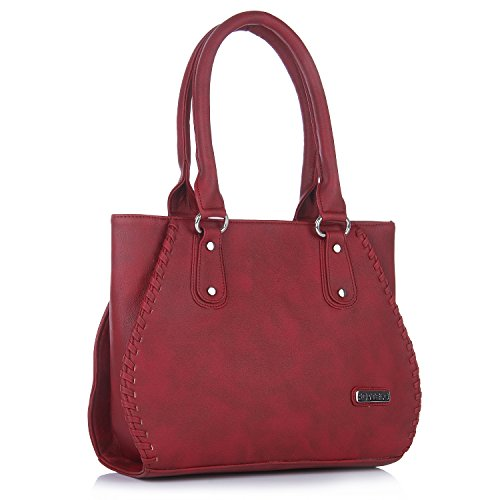 Fostelo Women's Everyday Casual Shoulder Bag (Maroon) (FSB-445)