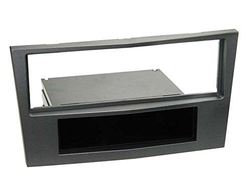 2-DIN mascherina per autoradio per Opel Antara//Astra H//Zafira B charocal metallizzato **