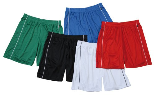 Basic Team Shorts Junior/James & Nicholson (JN 387k) XS S M L XL XXL SCHWARZ,M (122-128)