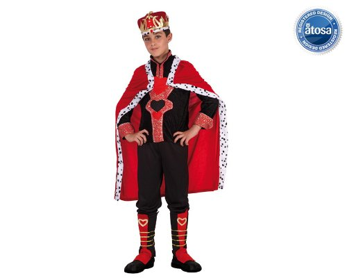 König der Herzen King Kinderkostüm (Der König Der Herzen Kostüm)