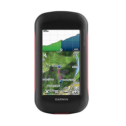 Garmin Montana 680 Outdoor-Navigationsgerät (Ant+ Konnektivität, 8 MP Kamera, 10,16 cm (4'') Touchscreen-Display)