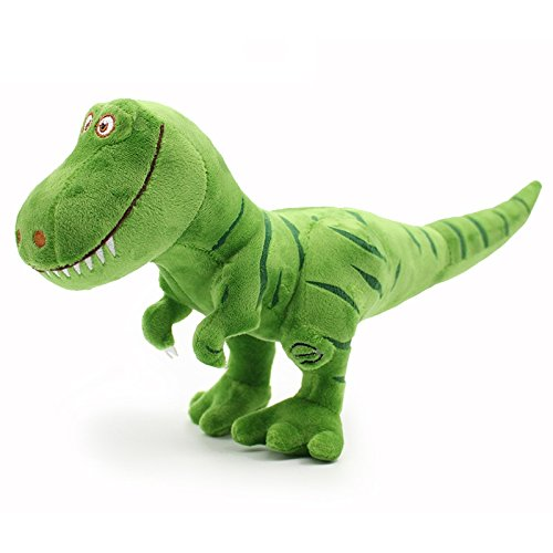 WonderKart Hanging Soft & Cuddly Stuffed Dinosaur Plush Toy - Green