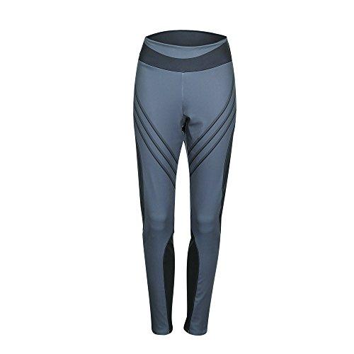 Beonzale Sommer Frauen Sport Gym Yoga Workout Mitte Taille Laufhose Fitness Elastische Gamaschen Yoga-Fitness-Hose Yogahose