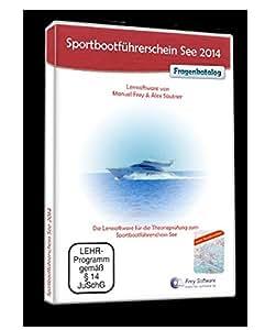 Sportbootführerschein See 2014 mit Karten