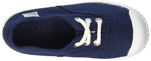 Aster Iggy, Baskets Fille Bleu (Marine)