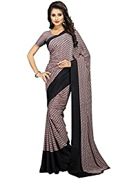 The Fashion Outlets Women's Silk Saree With Blouse Piece - 07_FO_BLACK_Free Size
