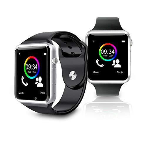 ChicPluss One Pro Smartwatch con Ranura para SIM. Reloj Inteligente Manos Libres. Cuenta Pasos, calorías consumidas,etc. Compatible iOS & Android.
