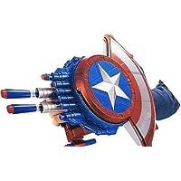MCGRAW Civil War Like Blaster Reveal Shield Toy and Bullet Blaster (Captain America Shield)