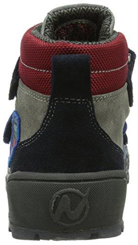 Naturino NATURINO ROBSON. Jungen Hohe Sneakers Mehrfarbig (BLEU-PIOMBO-AZZ.-GR)