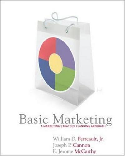 Basic Marketing w/Student CD by Jr.,William Perreault (2006-10-12)