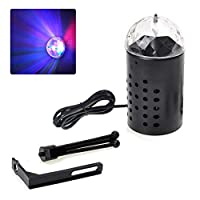 Sarplle Stage Light LED Disco Light Disco Lighting with Bracket 7 Colors Light Effects for Room Wedding Birthday Party Christmas