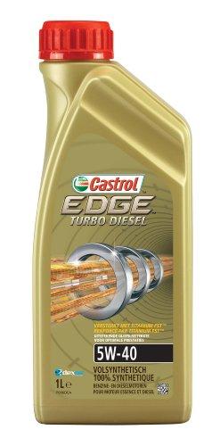 Castrol 151B6D Olio Motore Edge Turbo Diesel 5W-40, 1 litro
