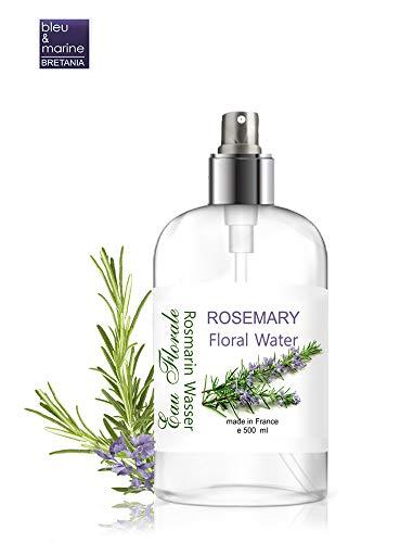 Eau Florale Hydrolat de Romarin ● Peaux Grasse et Imperfections ● Tonique Peaux Mixtes et Grasses ● Spray Cheveux ● Parfum d'ambiance (500 ml)