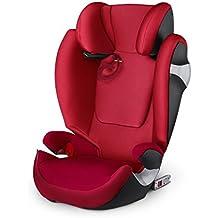 Cybex Solution M-Fix - Silla de coche, grupo 2/3 (15-36 kg, de 3 a 12 años aproximadamente) con Isofix, color Infra red [Colección 2017]