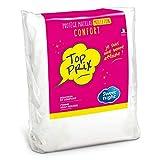 Sweet Night First matrasbeschermer absorberend topprijs polyester katoen wit 90 x 200 cm