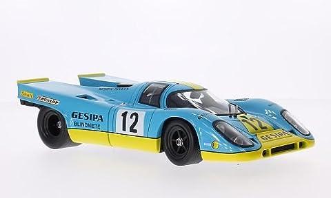 Porsche 917K, No.12, GESIPA, Interserie, Norisring, 1971, Modellauto, Fertigmodell, Norev 1:18