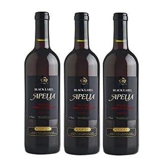 3x-Apelia-Black-Label-750-ml-Rotwein-lieblich-aus-Griechenland-115-1-Probier-Sachets-Olivenl-aus-Kreta-a-10-ml-griechischer-roter-Wein