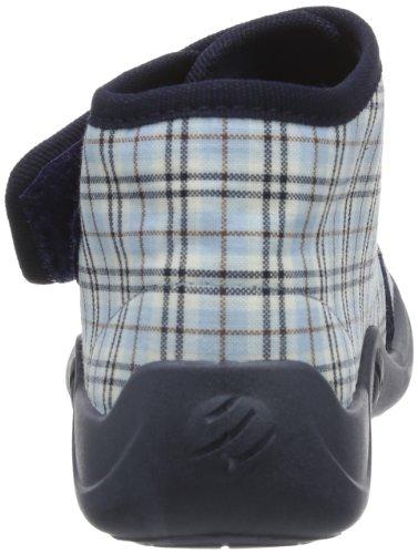 Rohde Kiddie 1602 Unisex-Kinder Hausschuhe Blau (jeans 55)