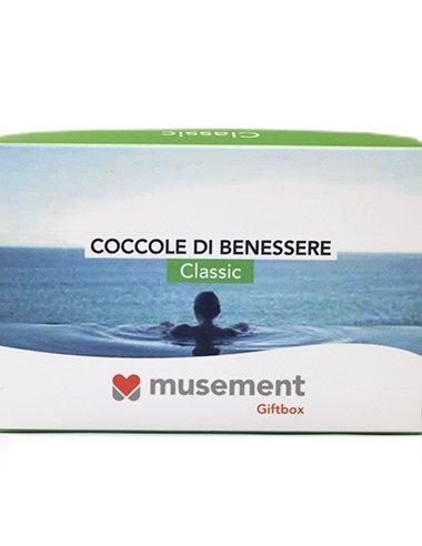 Musement giftbox - coccole di benessere (classic) - cofanetto regalo