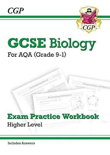 Grade 9-1 GCSE Biology: AQA Exam Practice Workbook (with answers)