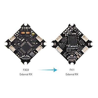 BETAFPV F4 1S Brushless Flight Controller FPV FC Integrated ESC OSD Support SmartAudio No RX 1S FPV Micro Brushless Racing Drone Like Beta75 pro Beta65 pro