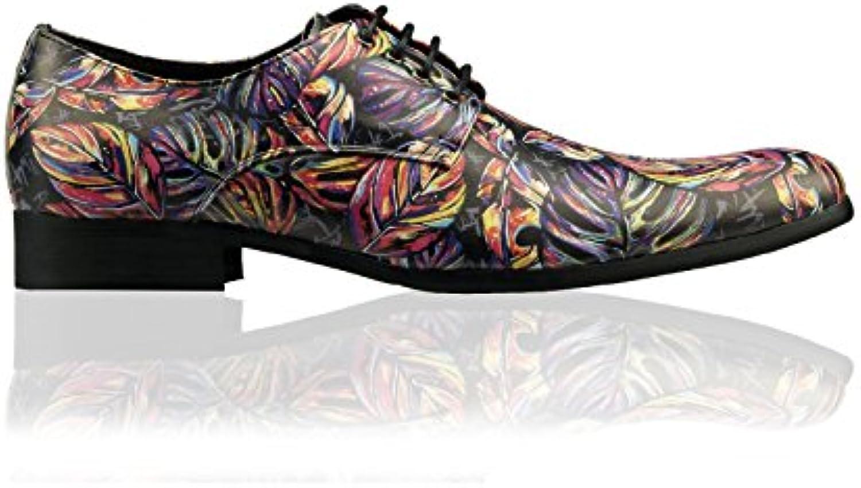 Lureaux 020130000 - Zapatos Planos con Cordones de Sintético Hombre -