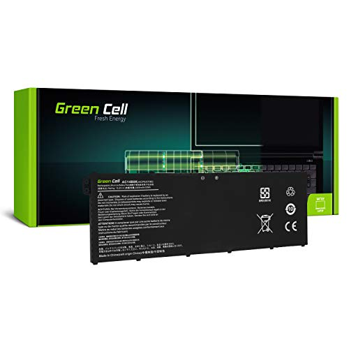 GC® Laptop Akku für Acer Aspire V 13 V3-372-50LK V3-372-50W9 V3-372-54B4 V3-372-54T0 (Li-Polymer Zellen 2200mAh 15.2V Schwarz)