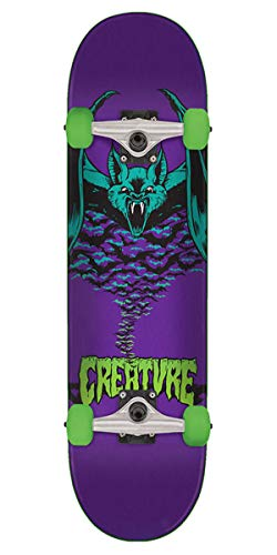 Creature Skateboard Komplett Bat - 7.75 Inch Purpur (One Size, Purpur)