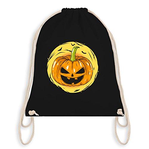 Bag Kürbis I Halloween Schwarz Gym Turnbeutel Gesicht Halloween 1BzqUz