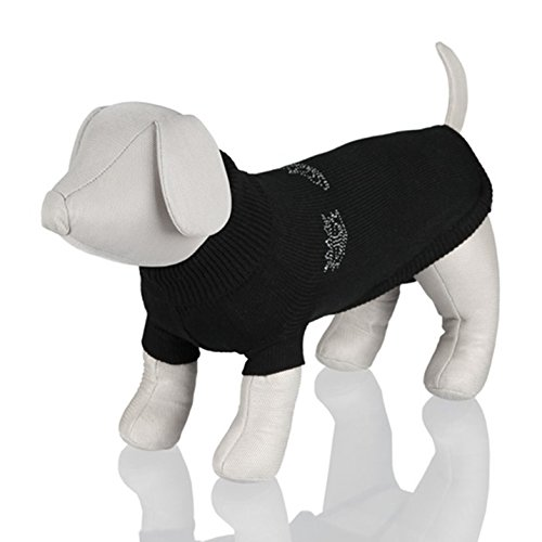 Trixie 30794 Kingston Pullover, M: 45 cm, schwarz