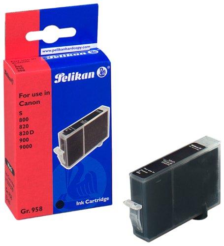 Pelikan 7510173 Tintenpatrone schwarz (13ml) - 4000 Inkjet-refill -