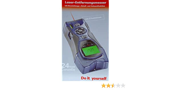 Ultraschall Entfernungsmesser Wasser : Laser entfernungsmesser messgerät mit stromleitungs metall und
