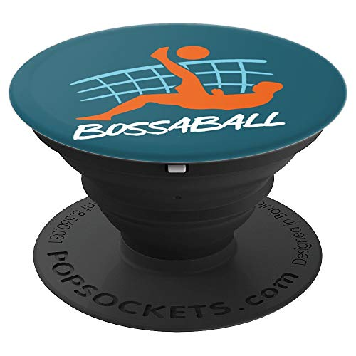 Spanisch Bossaball Team Sport Ball Spiel Bossaball Spieler - PopSockets Ausziehbarer Sockel und Griff für Smartphones und Tablets