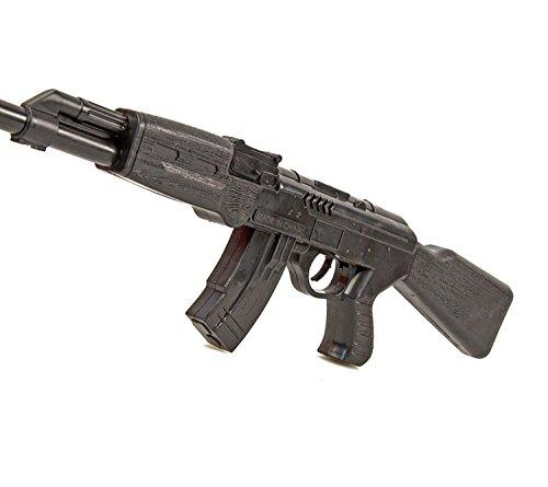 Ratta-Gewehr 42cm Sturmgewehr-47 Spielzeug-Pistole-Waffe Kinder-Kostüm Verkleidung Fasching Karneval Pistole Maschinengewehr Soldat SWAT - 5