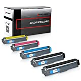 Logic-Seek 5 x Toner kompatibel für Brother TN-242 TN-246 HL-3142 3152 3172 CW CDW DCP9017CDW, Schwarz je 2.500 Seiten, Color