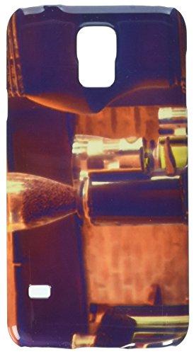 Espresso Kaffeemaschine mit gerösteten Kaffee beansv, Vintage Stall Handy Tasche Cover Case Samsung S5